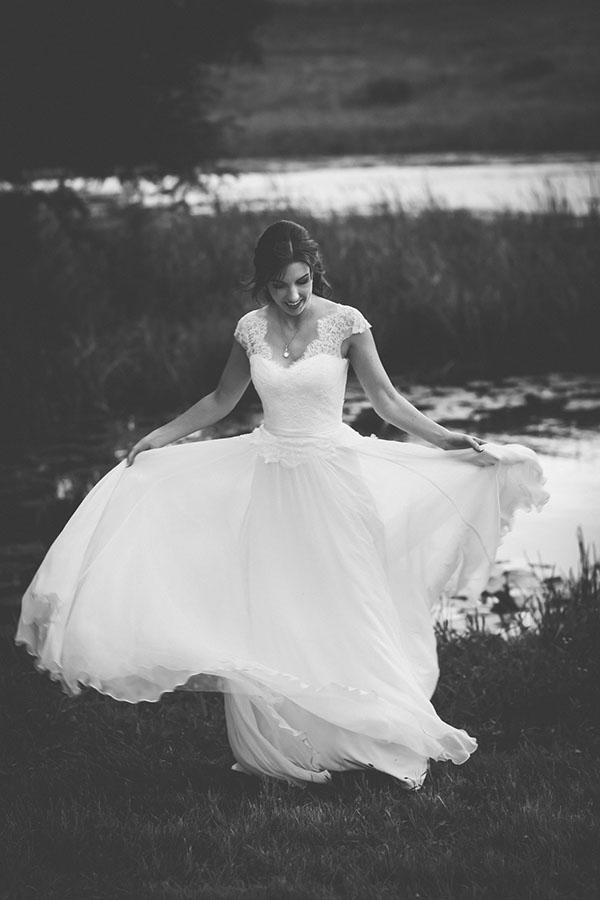 Marie - Soft Layers from Waist | Silk Chiffon
