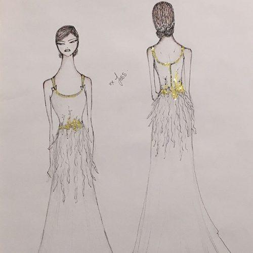 Joss Bridal Sketch