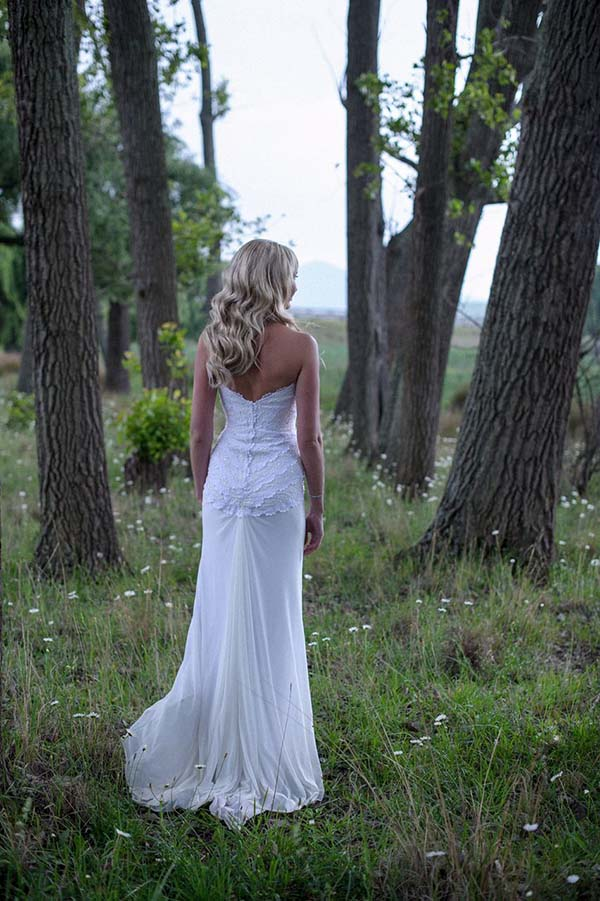Bride Adeli - Lace & Draping Dress