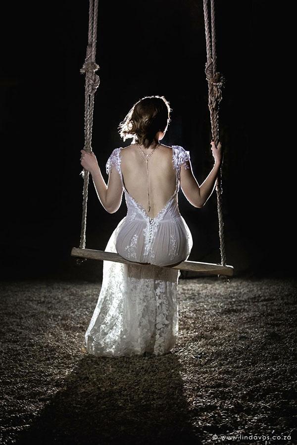 Chané - Boho Style W/Dropped Back Dress