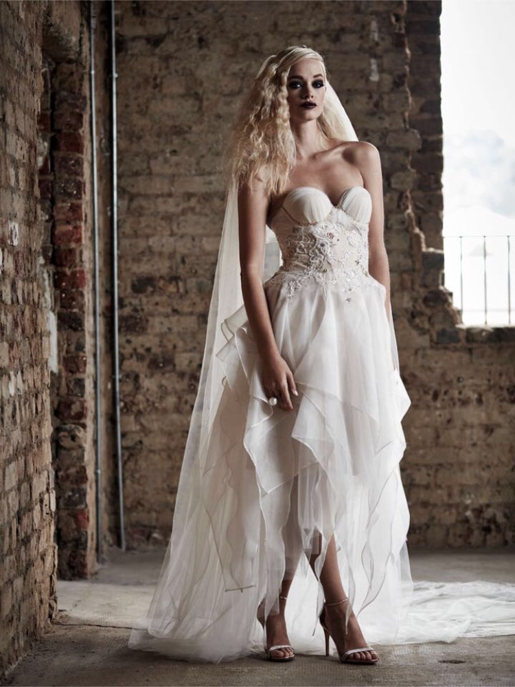 Rock Chic Fairy Wedding Dress